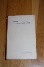 Queffélec - Tempête sur Douarnenez - 1/210 ex. Mercure de France Bretagne