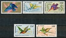 CHAD/REP. DU TCHAD 1966 - BIRDS-WHITE THROATED BEE EATER/AFRICAN PIGMY ETC.  335