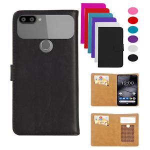 Handy Tasche Für Gigaset GS195 Schutz Hülle Flip Cover Case Wallet Etui XL - KLS