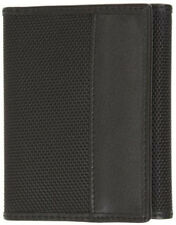 Travelon RFID Blocking Ballistic Nylon Trifold Wallet - Black