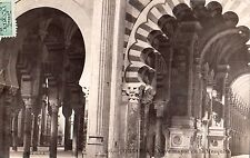 ESPANA SPAIN CORDOBA NAVE DE LA MEZQUITA 1910 TO BAYONNE VL, SEVILLA REAL PHOTO