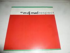 "M DJ MAD - R.E.S.P.E.C.T. - 1991 UK 3-track 12"" Vinyl Single"