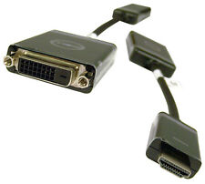 Dell Computer Video Converter Male HDMI Video Cable to Female DVI-D Dual Link