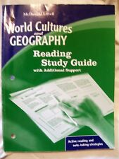 McDougal Littell World Cultures & Geography: Reading Study Guide w/ Additional S