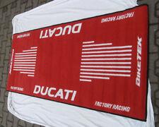 DUCATI  Garagen- Teppich-Tankmatte Garagenmatte
