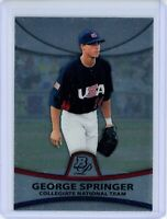 2010 Bowman Platinum Prospects #PP48 GEORGE SPRINGER RC Rookie (Astros) NM
