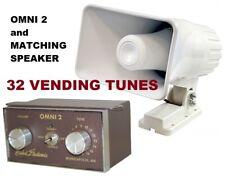 Ice Cream Truck, Music Box Sound System - Omni 2 + 50 watt Matching Speaker