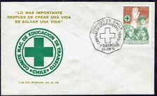 CHILE FDC COVER 1974 # 850 POLICE