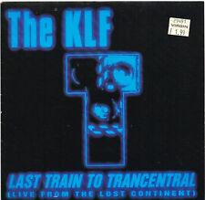 """KLF last train to transcentral U.K. 7"""" 45rpm_MINT LIKE NEW 1991"""