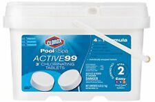 """Clorox Pool&Spa Active99 3"""" Chlorinating Tablets 5 lb - New, FreeShip"""
