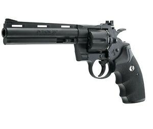Umarex Colt Python 6 Inch Barrel .177 Polymer BB Gun Revolver