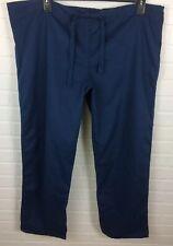 Gel Scrubs XL Unisex Drawstring Scrub Pants 6558 Navy Blue