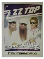 Zz Top Poster Can't Stop Rocking Promo
