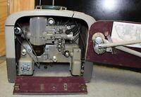 Vintage Bell & Howell Filmosound Des.285 Movie Projector 16mm (H)