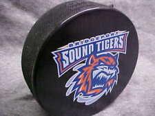 Ahl Bridgeport Sound Tigers (New York Islanders) Collectors Souvenir Hockey Puck