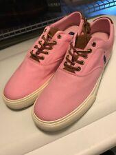 Polo Ralph Lauren Vaughn Pink Shoes New Mens 12