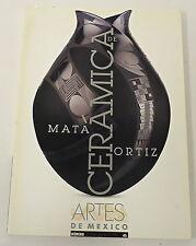 CERAMICA DE MATA ORTIZ, Mexican Art, No. 4 ~ pottery, ceramics, Spanish PB