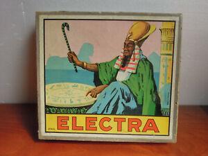 Ancien JEU  ELECTRA électrique FICHES question reponse