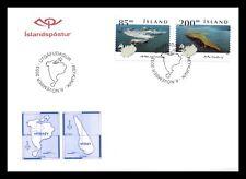 Iceland 2003 FDC, Islands III, Lot # 3.