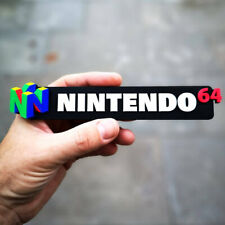 Nintendo 64 3D shelf display/fridge magnet - Retro Video Games Logo
