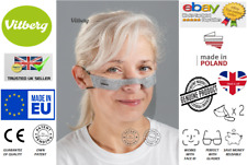2x VITBERG MINI SHIELD Reusable Fits With Glasses Face ID compatibile