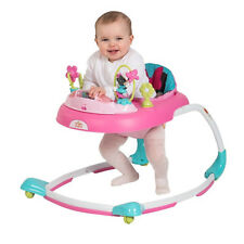 Disney Baby Minnie Mouse Bows and Butterflies Baby Walker BRAND NEW