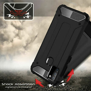 Tough Phone Case for Samsung S7 A21S Note 9 Hybrid Hard Armor Shockproof Cover