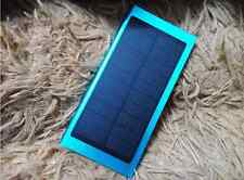 100000mAh Dual USB Portable Solar Battery Charger Power Bank For Cell Phone Blue