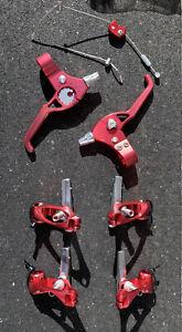 Machine Tech RARE 90's Kult Cantilever Brakes Klein Yeti Grafton Cook Bros Bmx