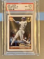 1991 Topps Desert Shield #790 Ken Griffey Jr. Mariners HOF PSA 8 ICONIC CARD