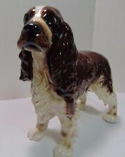 """Vintage Goebel Large Cocker Spaniel Dog Porcelain Figurine 9"""" Long Mint 1973"""