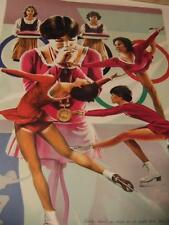 """'Dorothy Hamill""""by William Nelson hand-signed"""
