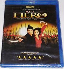 "Hero (Blu-ray) Jet Li Htf Brand New Sealed "" Oop "" Rare"