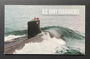 Sc BK279 (#3373-3377) US NAVY SUBMARINES  Complete Prestige Booklet  MNH 2000