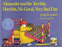 Alexander and the Terrible, Horrible, No Good, Very Bad Day, Paperback by Vio...