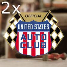 2x Stück US Autoclub Aufkleber Sticker Autocollante V8 Hemi Mopar Hot Rod