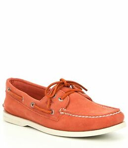 NEW! Sperry Top Sider STS19748 Boat Shoe Red Casual