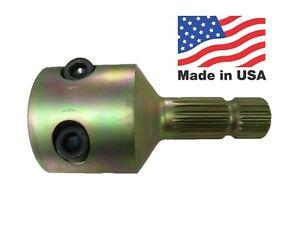 """PTO Adapter 1 3/4"""" 1000 RPM Female 20 Spline to 1 3/8"""" 1000 RPM Male 21 Spline"""