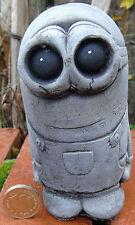 Small Minion - Hand Cast Stone Garden Ornament - 6 x 6 x 12 cms - 666 grams