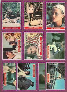 1968 O-PEE-CHEE MOD SQUAD CARDS 1 TO 55 SEE LIST
