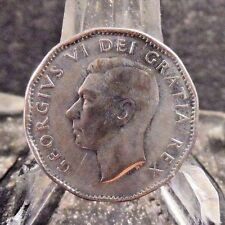 CIRCULATED 1952 5 CENT CANADIAN COIN (011017)1