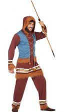 Déguisement Homme ESQUIMAU Marron XL Pays peuple du monde Inuit NEUF Pas cher