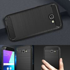 New Shockproof Rugged Carbon Fibre Armour Case Cover For Samsung Galaxy A5 2017