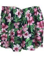 King Size 5XL brand bathing suit swim trunks Mens elastic waist Hawaiian pockets