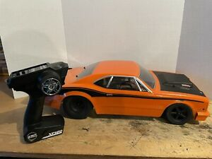 Team Associated 1/10 DR10 Drag Race Car Rtr Orange With Battery Charger Lipo