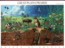 UNITED STATES MINT SHEET GREAT PLAINS PRAIRIE