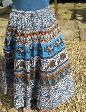Gonne e minigonne da donna bianchi lunghezza lunghezza totale in cotone