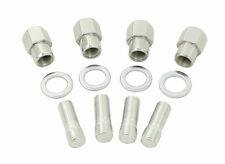 VW Bug Buggy  Chrome Nut & Stud Kit M14-1.5 To 1/2-20, Mag Wheels Set 4 ,9511