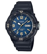Casio Watch * MRW200H-2B3 Diver Look Rotating Bezel Blue Face Black COD PayPal
