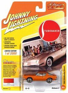 1963 Studebaker Avanti Bronze Metallic Johnny Lightning Diecast 1:64